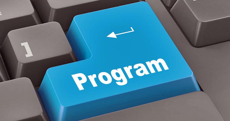 Virtual event program